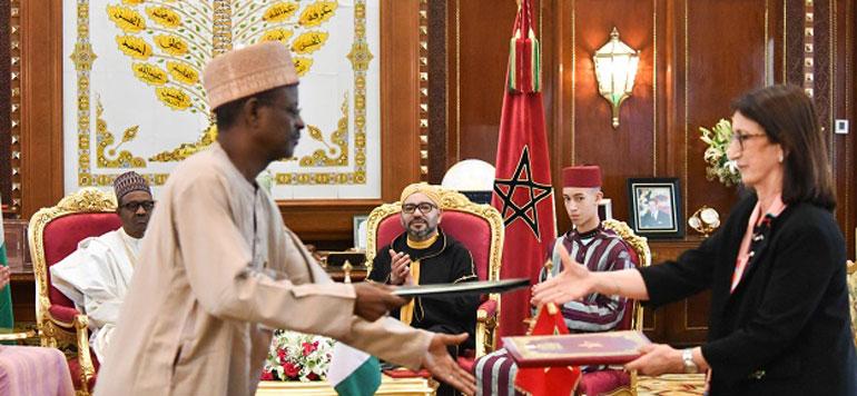 Le Maroc et le Nigeria signent trois accords de coopération, dont un portant sur le projet de gazoduc