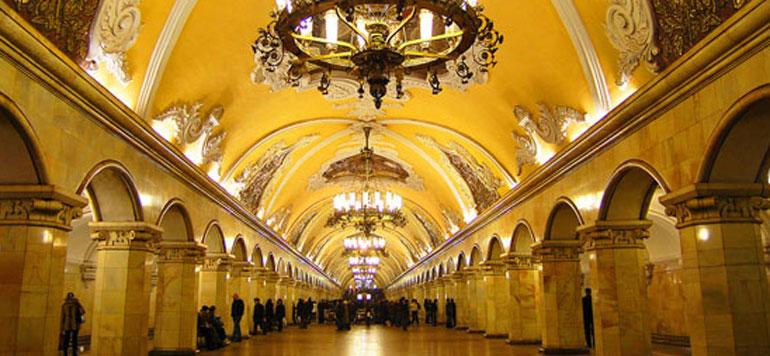 Transport public à Moscou : Optez pour le métro