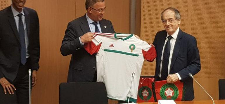 Mondial 2026 : Le président de la fédération française soutient le dossier marocain devant l'UEFA