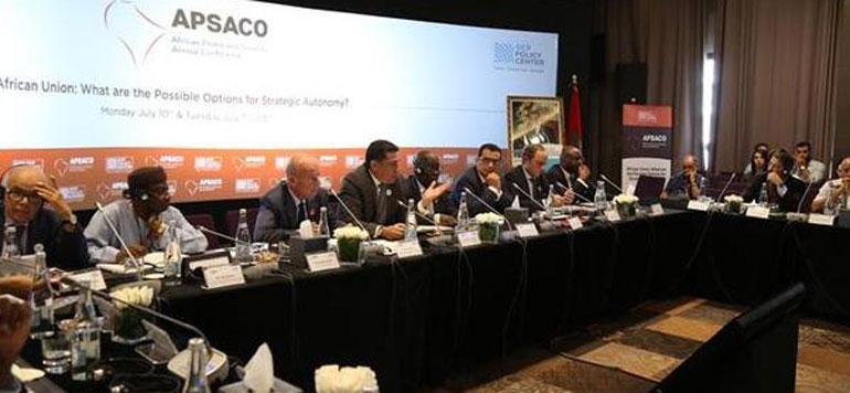 Rabat accueille la Conférence annuelle sur la paix et la sécurité en Afrique