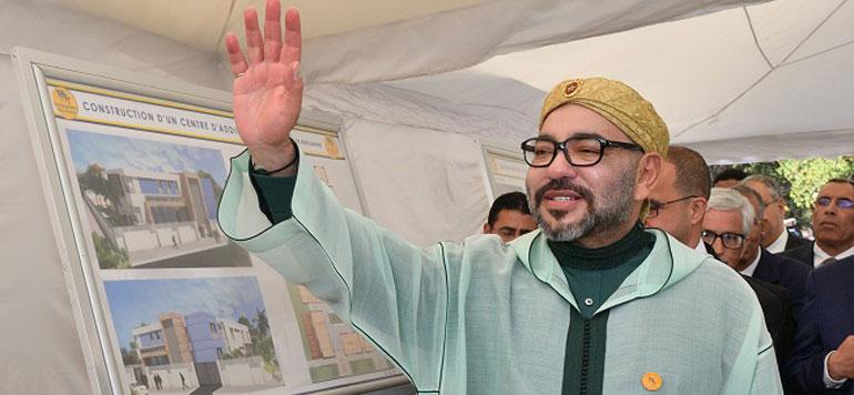Benslimane : Le Roi Mohamed VI lance les travaux de construction d'un Centre d'addictologie