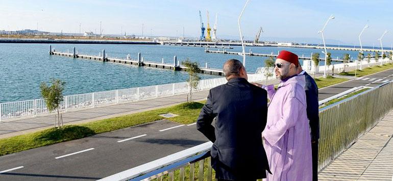 Le Roi a inauguré des ports de plaisance et de pêche à Tanger