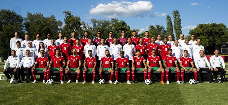 En photos, L'arrivée de l'équipe nationale marocaine en Russie