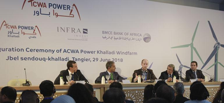 Tanger : ACWA Power inaugure le parc éolien Khalladi