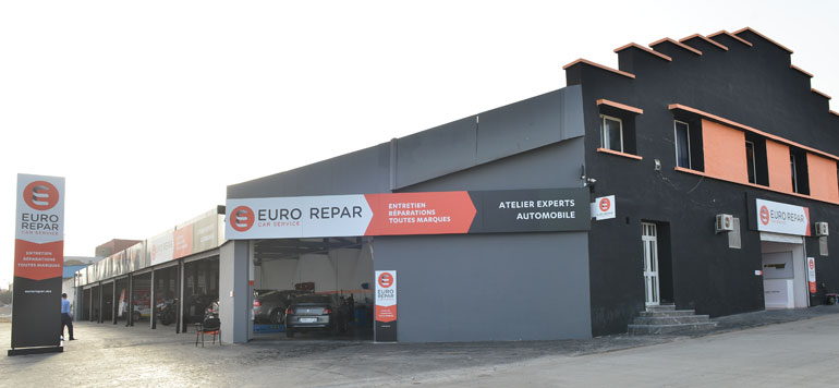 Opening Of A First Euro Repar Garage In Casablanca Lavieeco
