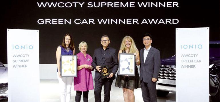 Hyundai Ioniq remporte deux prix au Salon Busan