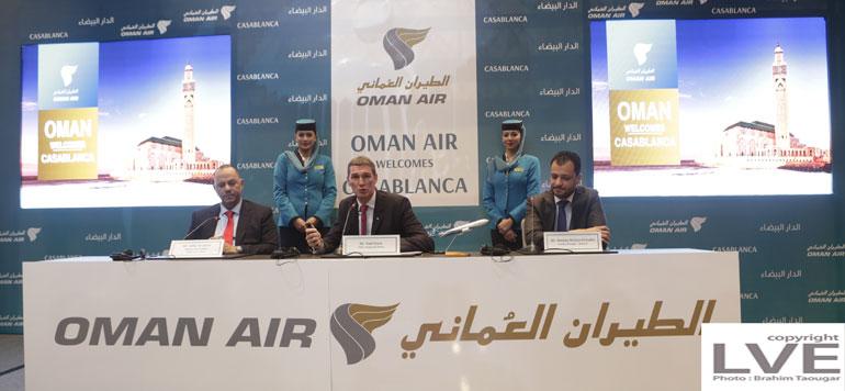 Oman Air lance son premier vol Mascate-Casablanca