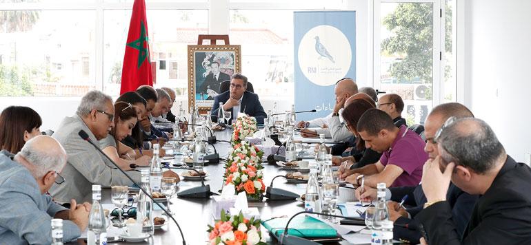 Le RNI a réuni son bureau politique à Tanger