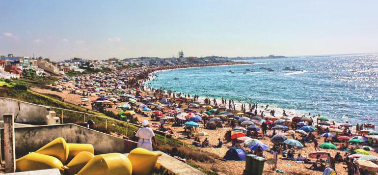La plage de Bouznika consacrée du label « Pavillon bleu »