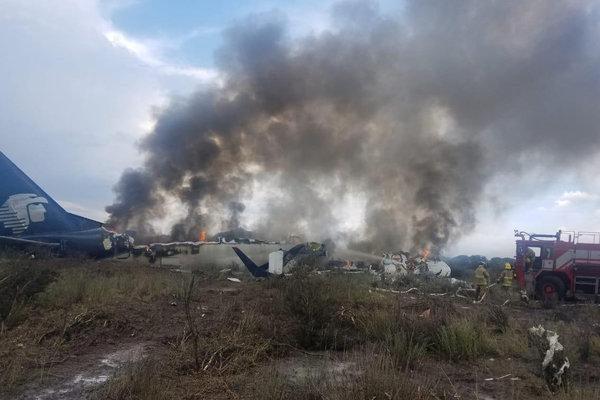 Un avion de ligne s'écrase au décollage dans le nord du Mexique, pas de mort