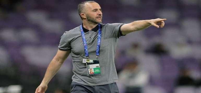Djamel Belmadi nouveau sélectionneur de l'équipe algérienne de football