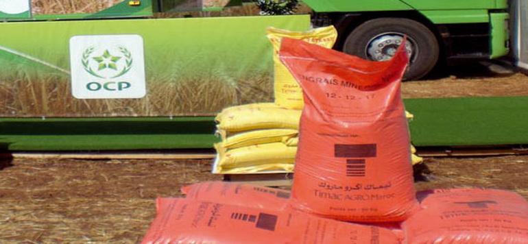 OCP fournira de l'engrais phosphaté au Ghana