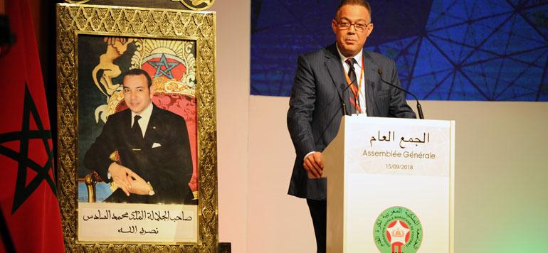 Près de 880 millions de DH de recettes pour la Fédération marocaine de foot