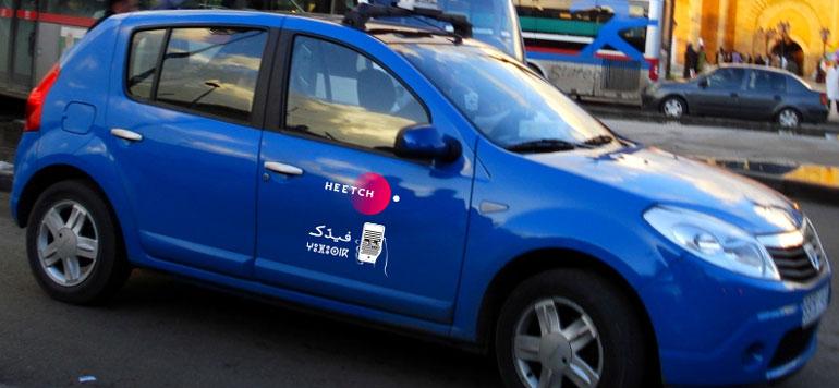 Transport : l'application Heetch arrive à Rabat