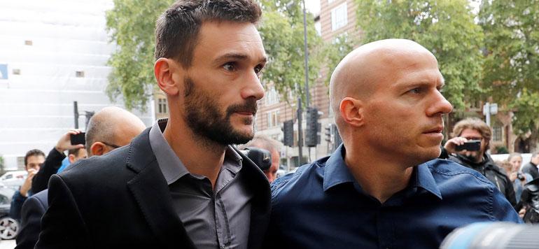 Foot: Hugo Lloris condamné à 20 mois de suspension de permis et une lourde amende