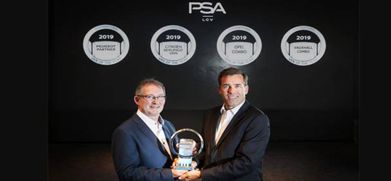 "PSA remporte le prix ""International Van of the Year 2019"""