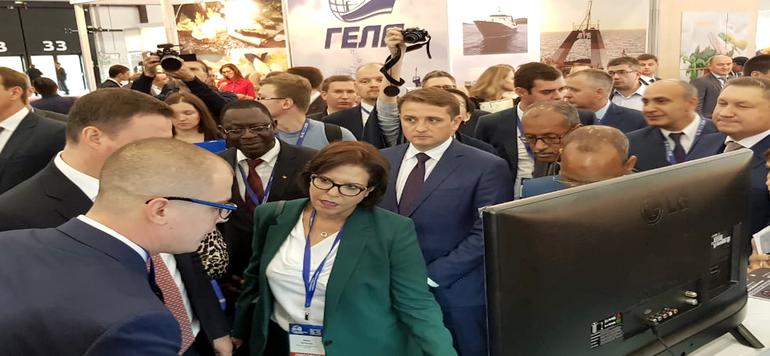 Le Maroc renforce sa présence au Russia SeaFood Expo