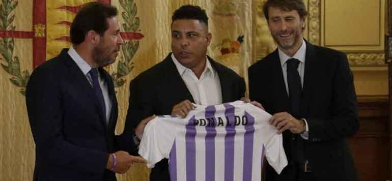 Espagne: le Brésilien Ronaldo rachète le Real Valladolid