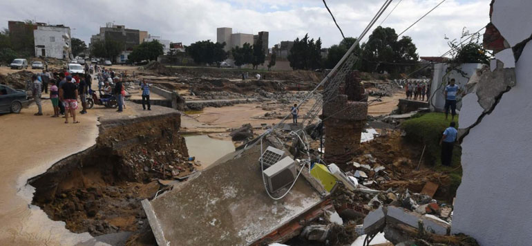 Inondations meurtrières en Tunisie