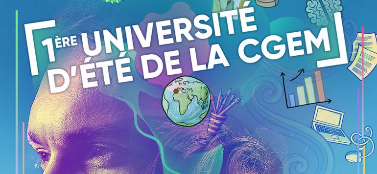 Lancement de la 1ère Université d'été de la CGEM à Casablanca