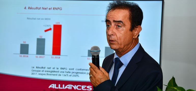 Alliances : la dette financière ramenée à 3 MMDH à fin juin 2018