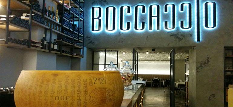Une nouvelle carte chez le restaurant Boccaccio
