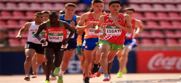 Jeux Olympiques de la Jeunesse 2018 : Anas Essayi remporte l'argent.