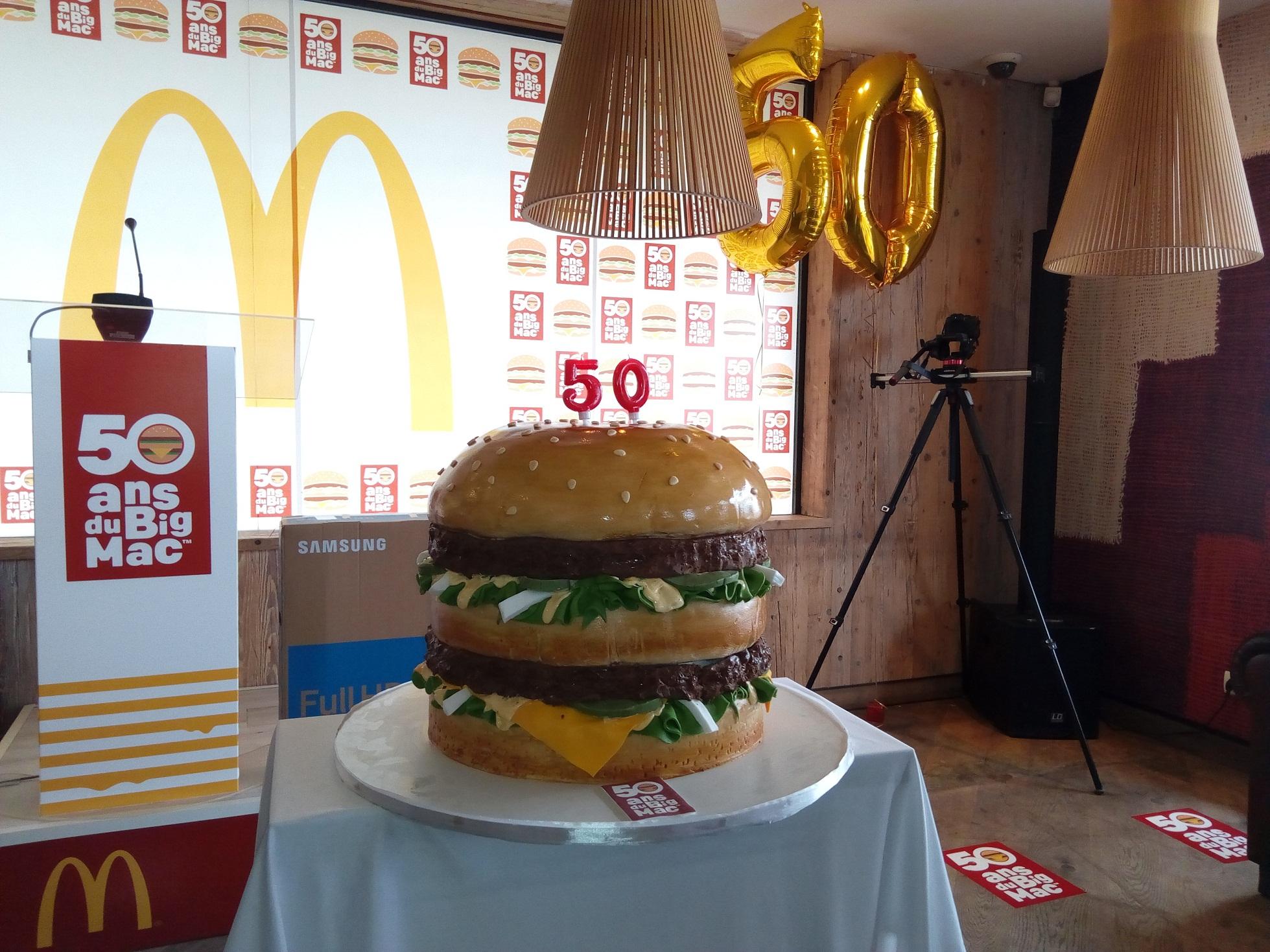 Le Big Mac célèbre ses cinquante années d'existence