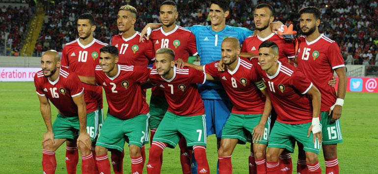 Foot. Le Maroc termine l'année à la 40ème position du classement FIFA
