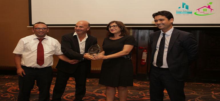 Sindibad Beach Resort décroche le «Green Solutions Awards 2018»