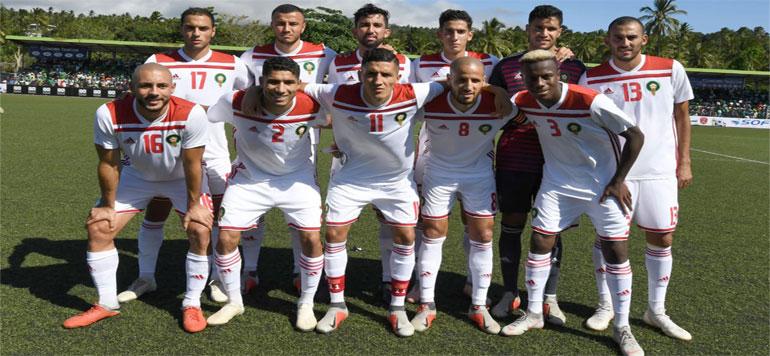 CAN 2019 : Le Maroc tenu en échec aux Comores (2-2)