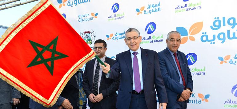 Grande distribution : Ynna Holding lance «Aswak Chaouia» à Settat