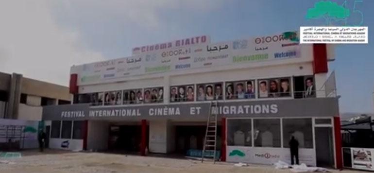 Coup d'envoi de la 15ème édition du festival international cinéma et migrations