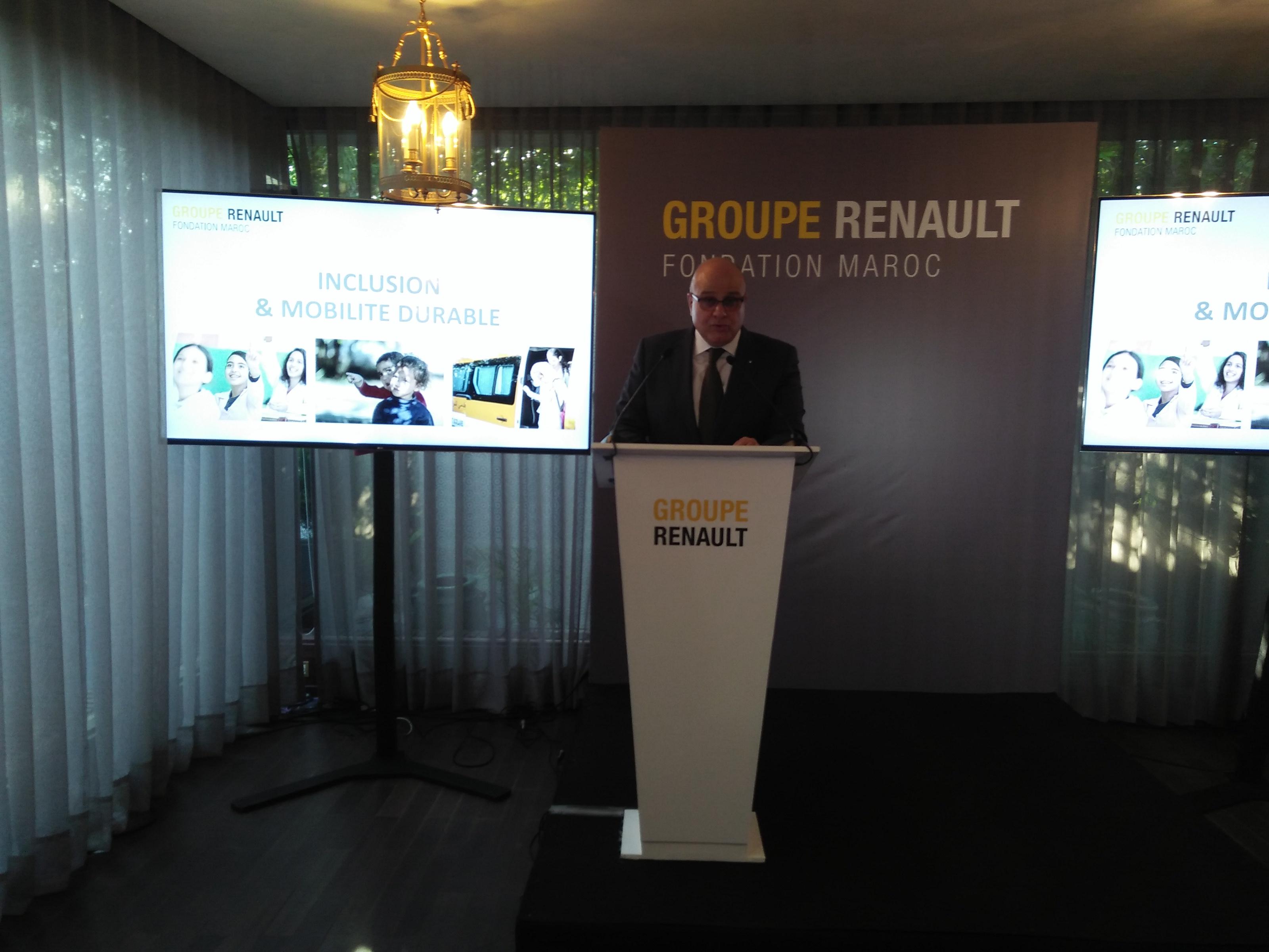 Renault Maroc lance sa fondation