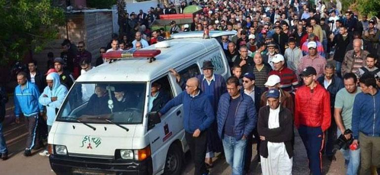 Obsèques émouvantes de l'entraîneur Mustapha Madih (Photos et vidéo)