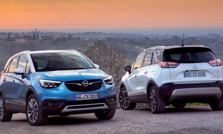 Opel renforce son offensive sur le marché des SUV