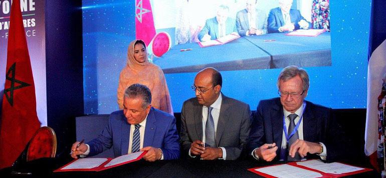 Cinq accords pour le développement de la région Laâyoune-Sakia El Hamra