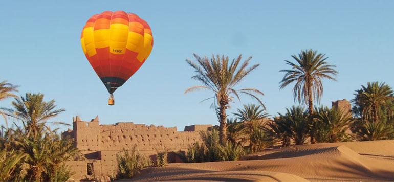 Marrakech : les sociétés de montgolfière s'inquiètent