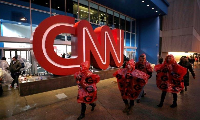 Fausse alerte à la bombe à CNN New York