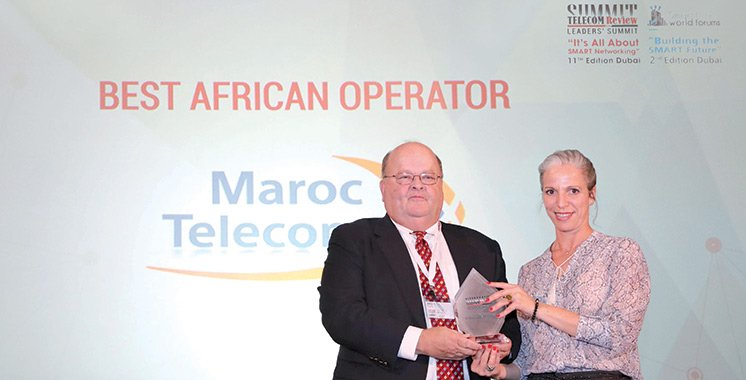Maroc Telecom, primé «Meilleur opérateur africain»