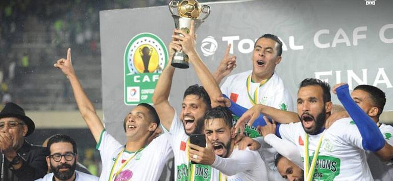 Retour en photos et vidéos sur le sacre du Raja de Casablanca en coupe de la CAF