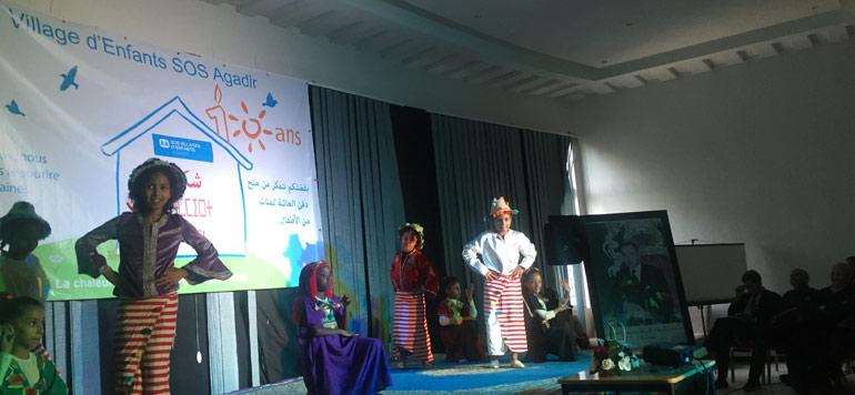 SOS Villages d'enfants fête les 10 ans de son établissement d'Agadir