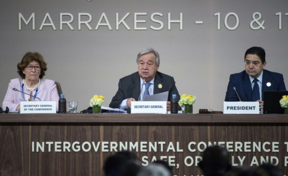 A Marrakech, le Pacte mondial pour les migrations approuvé