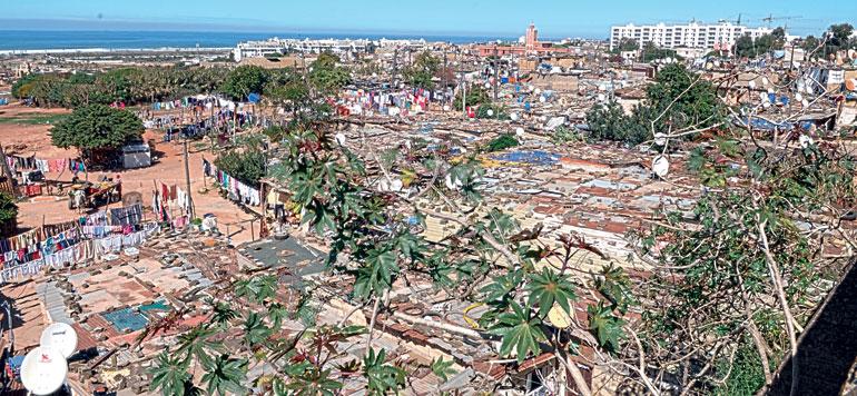 Bidonvilles: Démolition programmée de 7000 baraques à Casablanca-Settat