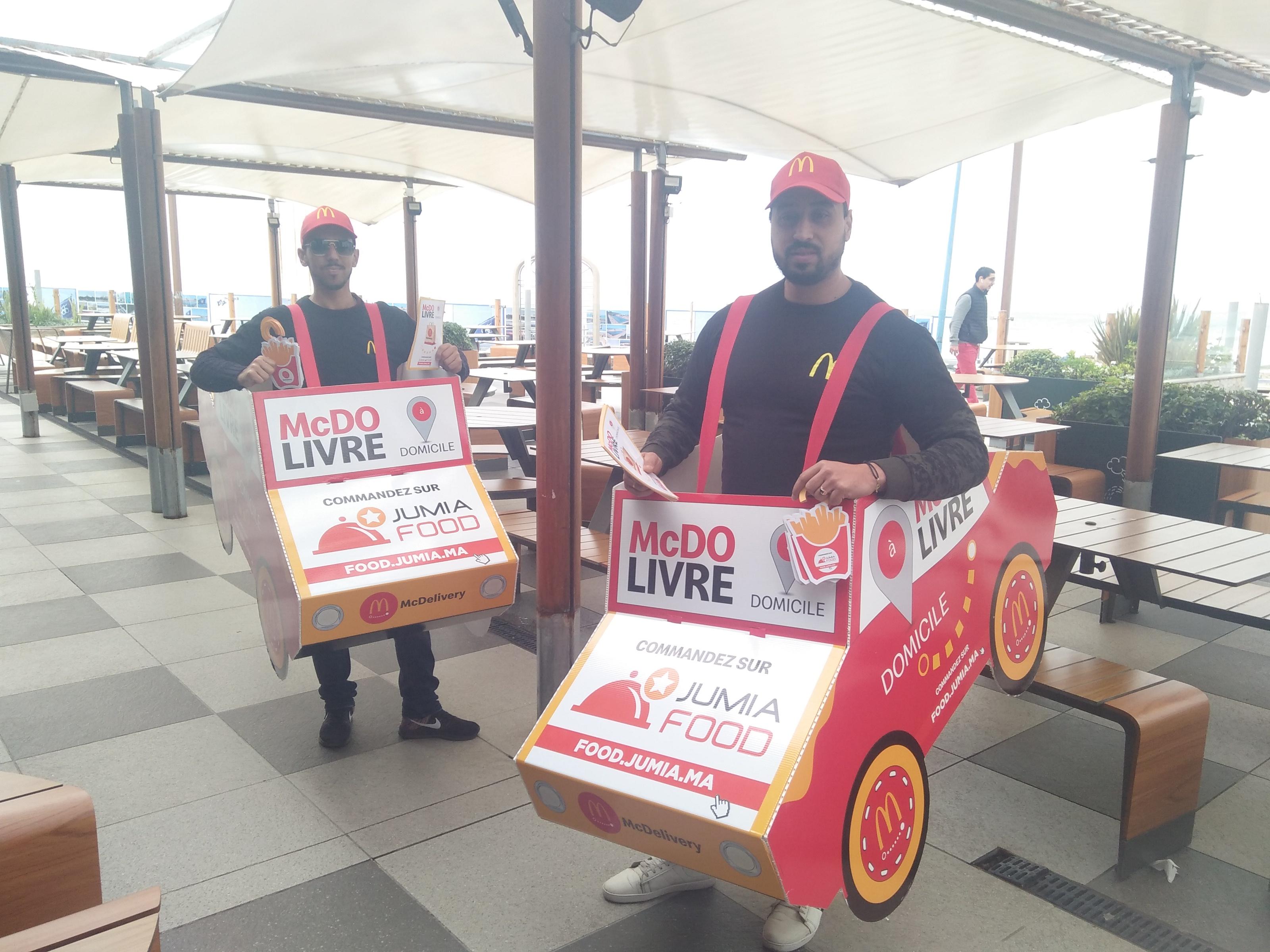 McDonald's lance la livraison à domicile avec Jumia