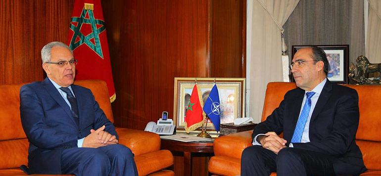Loudyi reçoit le Secrétaire général adjoint de l'OTAN
