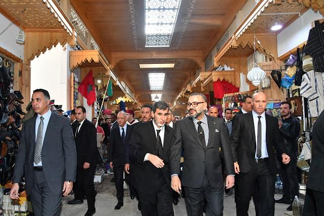 SM le Roi s'enquiert de l'avancement de la réhabilitation de l'ancienne médina de Rabat