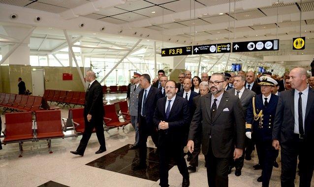 Sa Majesté inaugure le nouveau Terminal 1 de l'aéroport Mohammed V