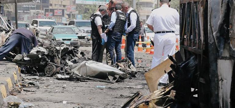 Egypte : deux policiers et un terroriste tués dans une explosion au Caire