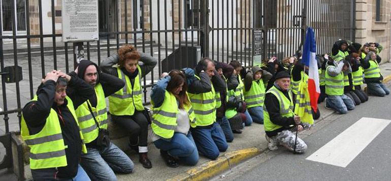 Gilets jaunes : près de 1 800 condamnations prononcées par la Justice